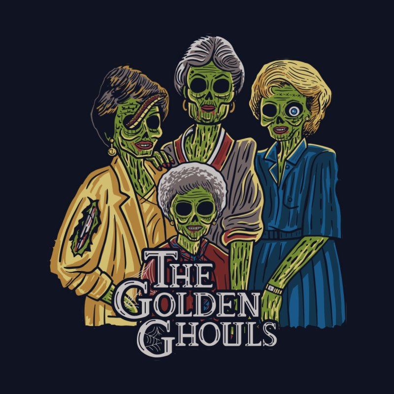 The Golden Ghouls Men's T-Shirt by Ibyes