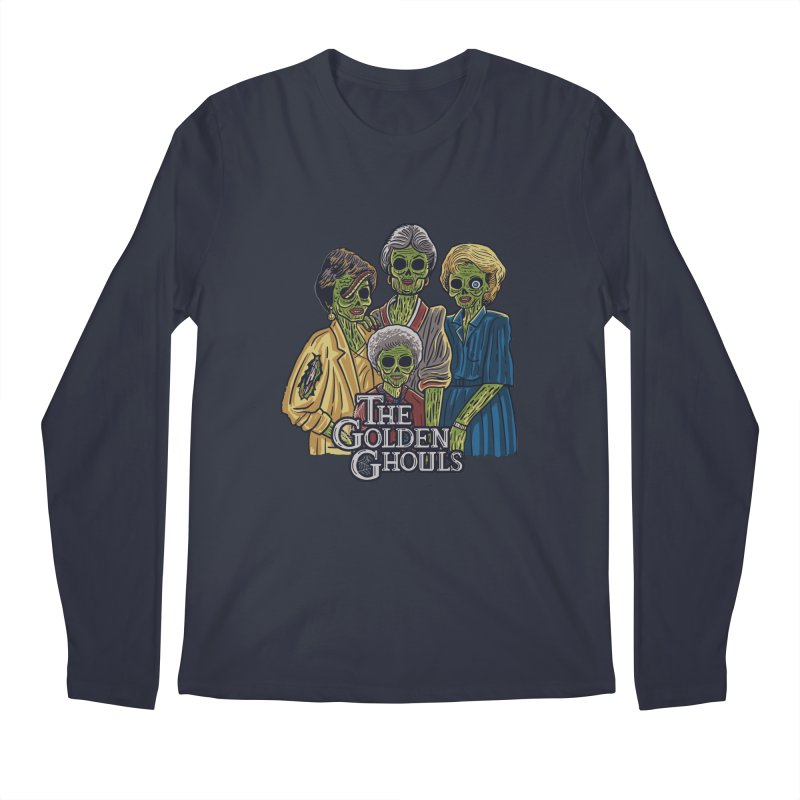 The Golden Ghouls Men's Regular Longsleeve T-Shirt by Ibyes