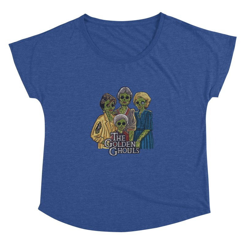 The Golden Ghouls Women's Dolman Scoop Neck by Ibyes