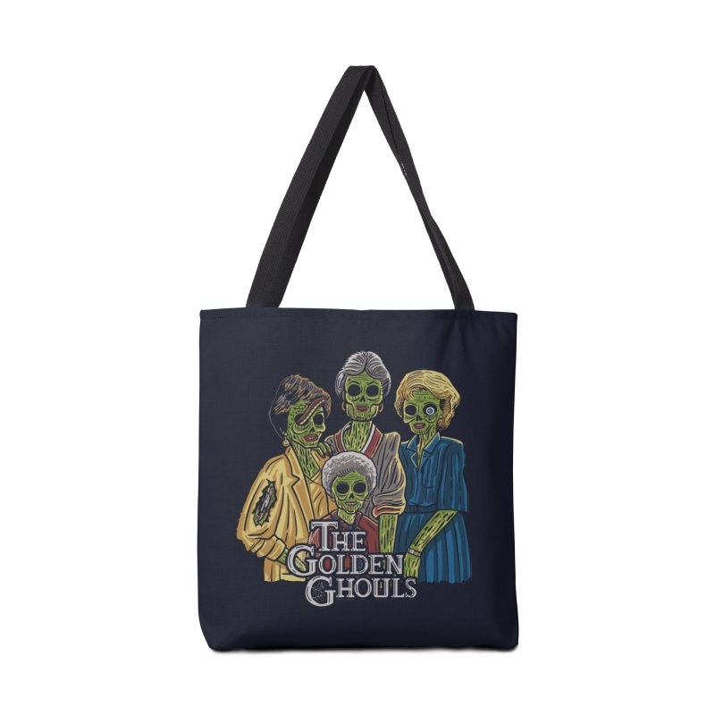 The Golden Ghouls Accessories Tote Bag Bag by Ibyes