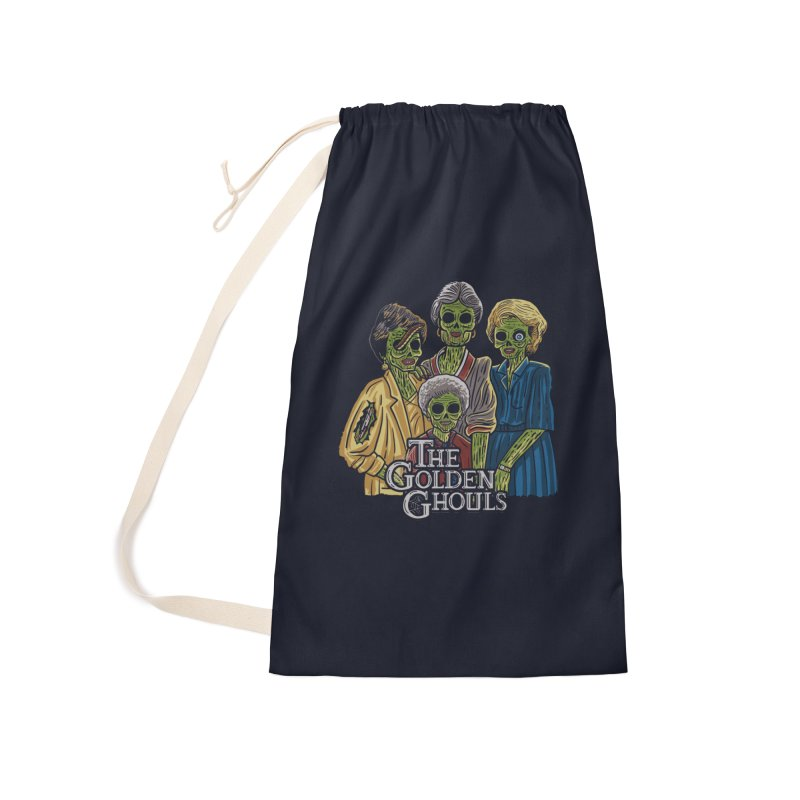 The Golden Ghouls Accessories Laundry Bag Bag by Ibyes