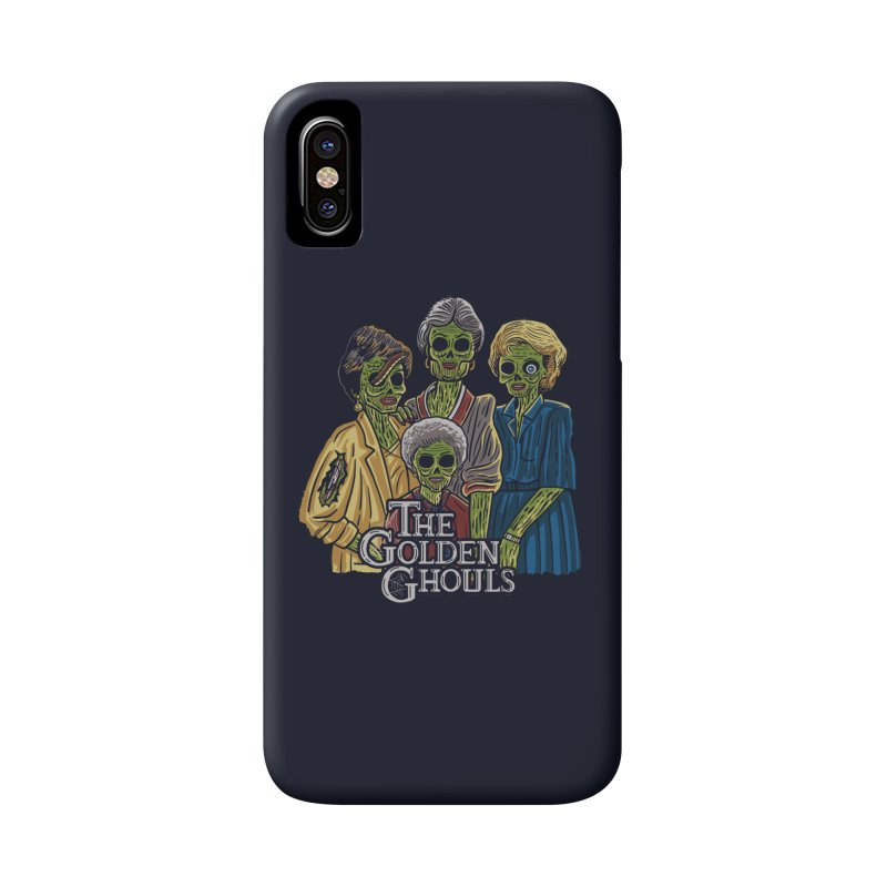 The Golden Ghouls Accessories Phone Case by Ibyes