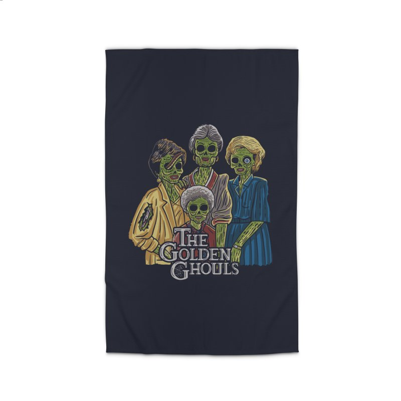 The Golden Ghouls Home Rug by Ibyes