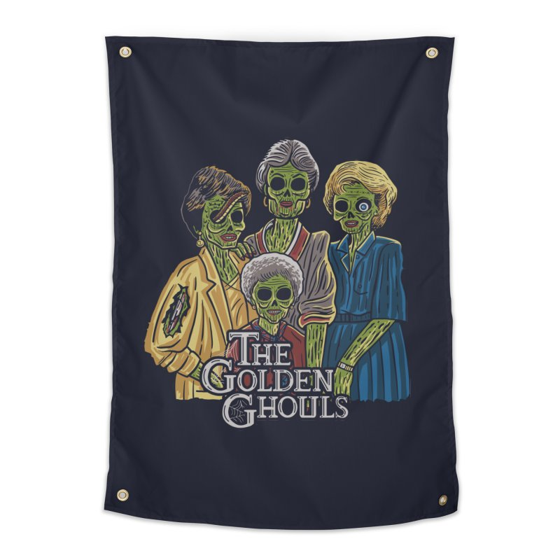 The Golden Ghouls Home Tapestry by Ibyes