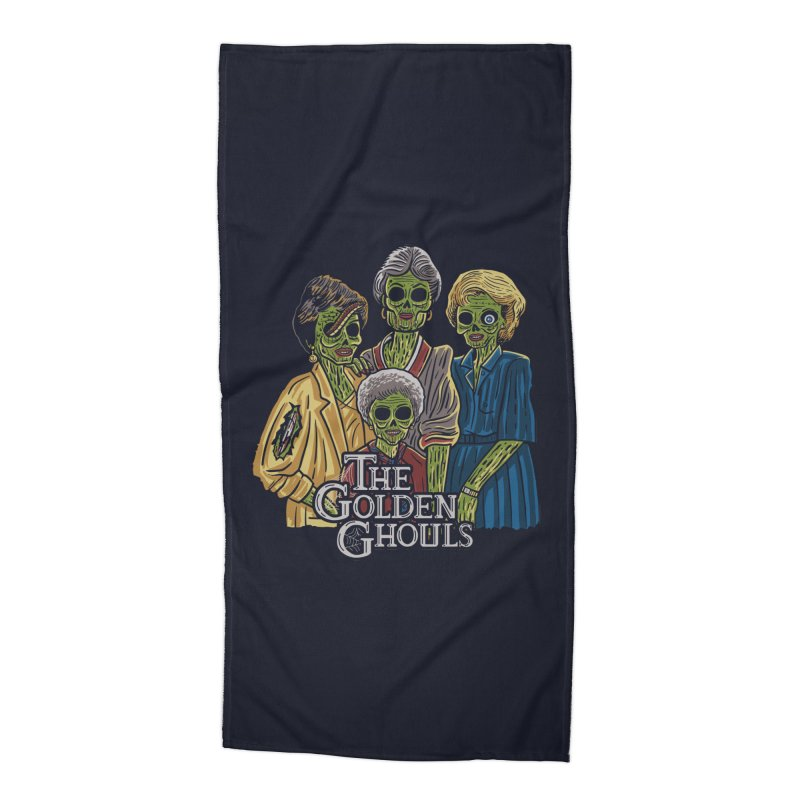 The Golden Ghouls Accessories Beach Towel by Ibyes