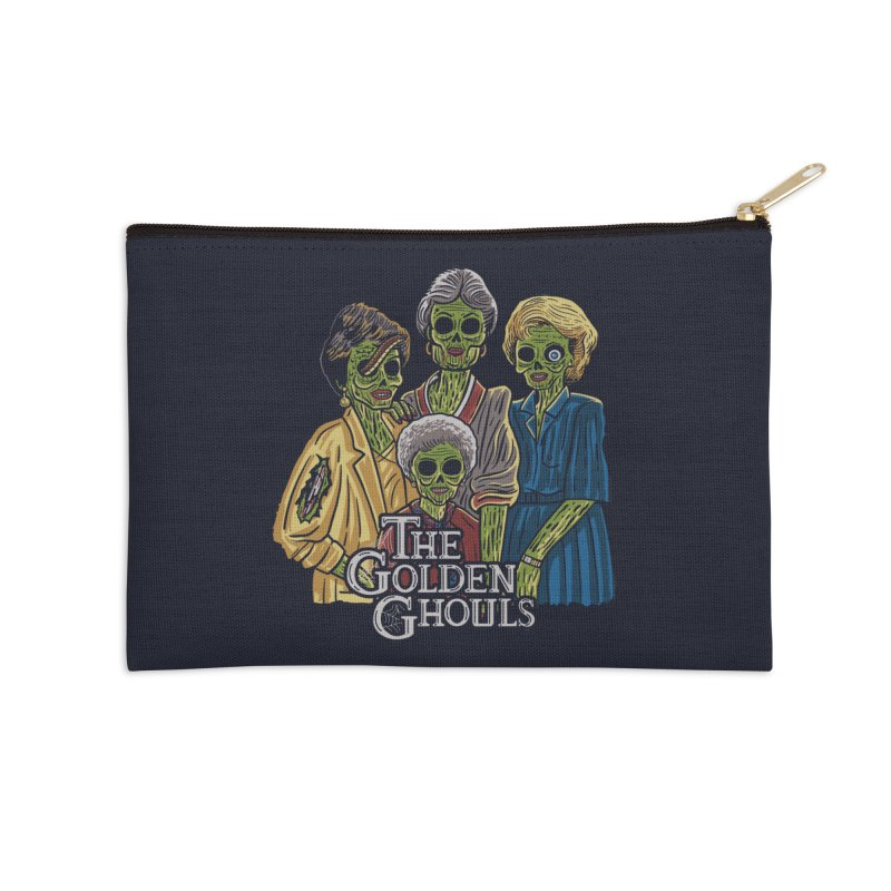 The Golden Ghouls Accessories Zip Pouch by Ibyes