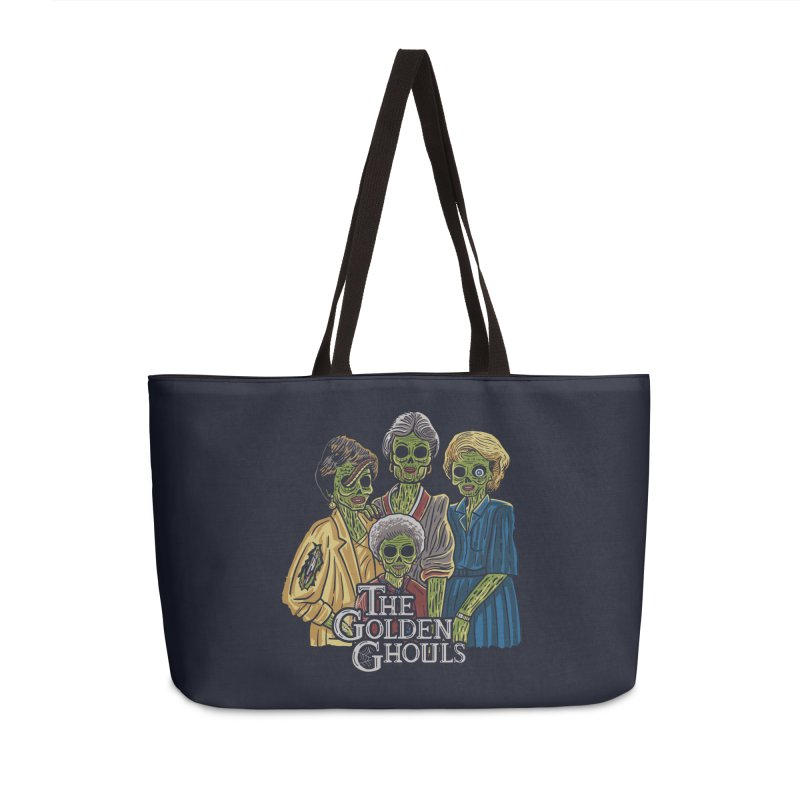 The Golden Ghouls Accessories Weekender Bag Bag by Ibyes