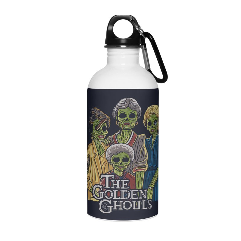 The Golden Ghouls Accessories Water Bottle by Ibyes