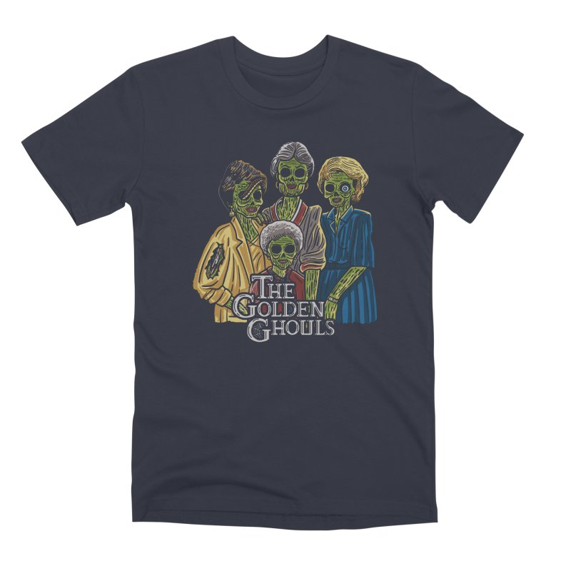 The Golden Ghouls Men's Premium T-Shirt by Ibyes