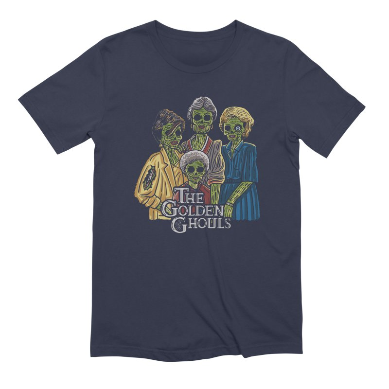 The Golden Ghouls Men's Extra Soft T-Shirt by Ibyes