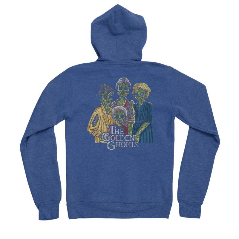 The Golden Ghouls Men's Sponge Fleece Zip-Up Hoody by Ibyes