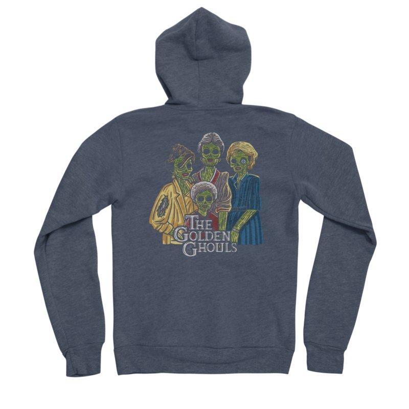 The Golden Ghouls Women's Sponge Fleece Zip-Up Hoody by Ibyes