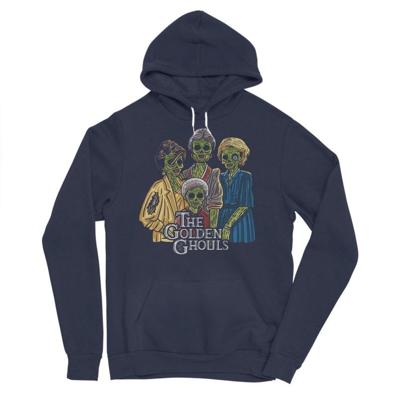 The Golden Ghouls Women's Sponge Fleece Pullover Hoody by Ibyes