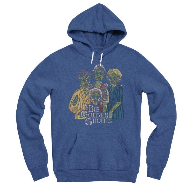 The Golden Ghouls Men's Sponge Fleece Pullover Hoody by Ibyes