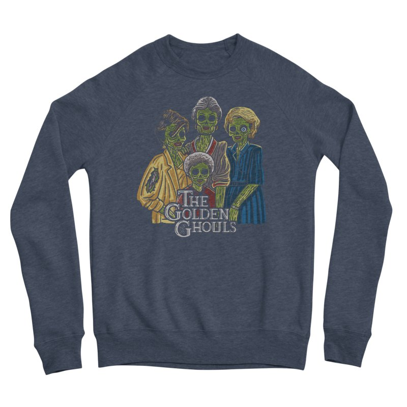 The Golden Ghouls Women's Sponge Fleece Sweatshirt by Ibyes