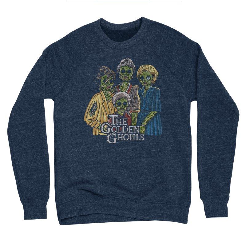 The Golden Ghouls Men's Sponge Fleece Sweatshirt by Ibyes