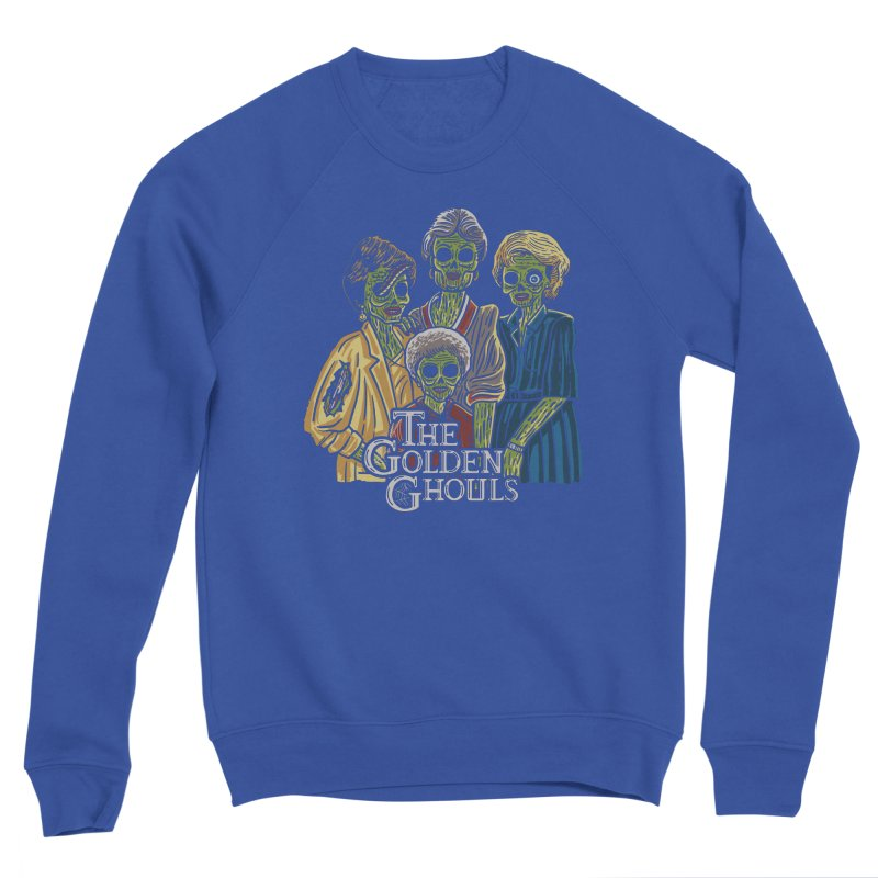 The Golden Ghouls Men's Sponge Fleece Sweatshirt by Ibyes