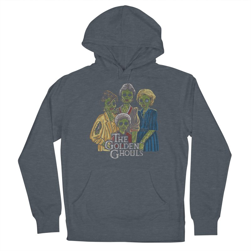 The Golden Ghouls Women's French Terry Pullover Hoody by Ibyes