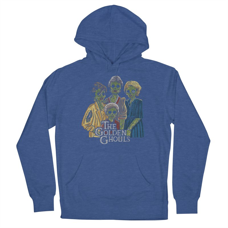 The Golden Ghouls Men's French Terry Pullover Hoody by Ibyes