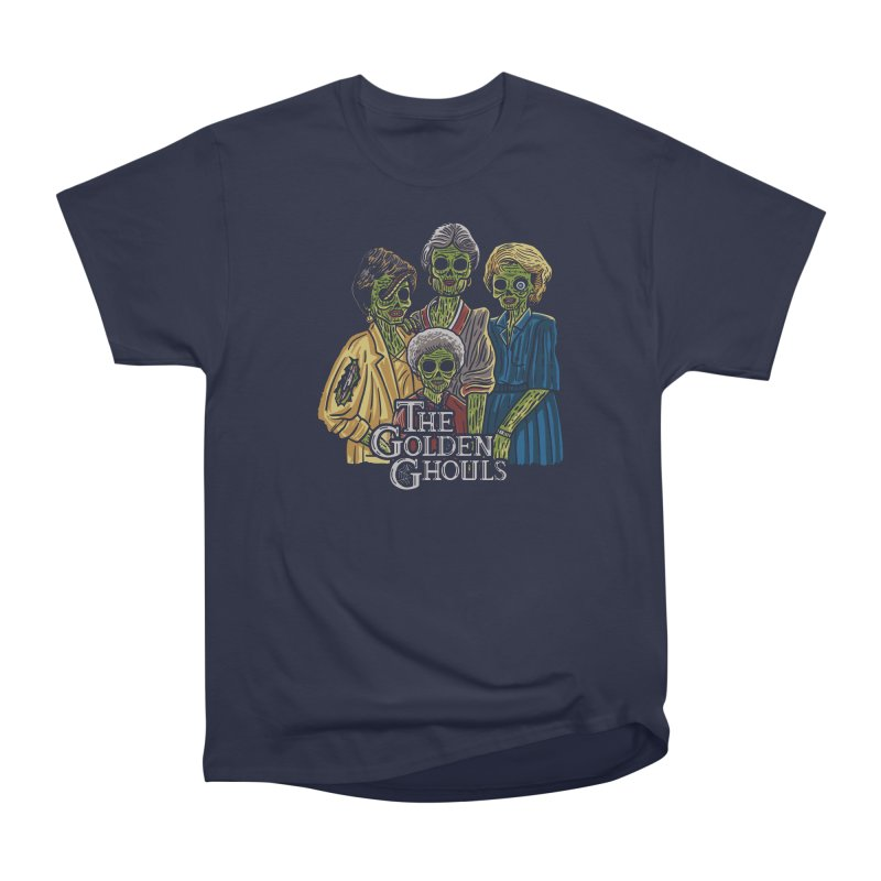The Golden Ghouls Men's Heavyweight T-Shirt by Ibyes