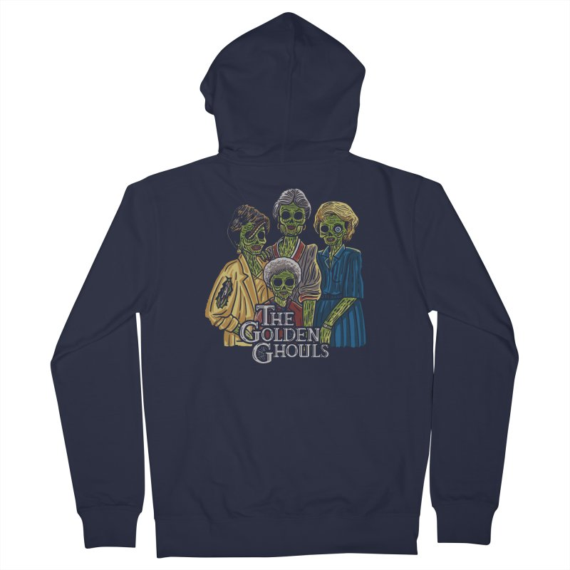 The Golden Ghouls Women's French Terry Zip-Up Hoody by Ibyes