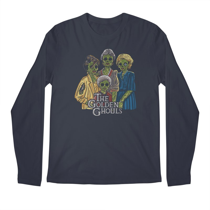 The Golden Ghouls Men's Regular Longsleeve T-Shirt by Ibyes
