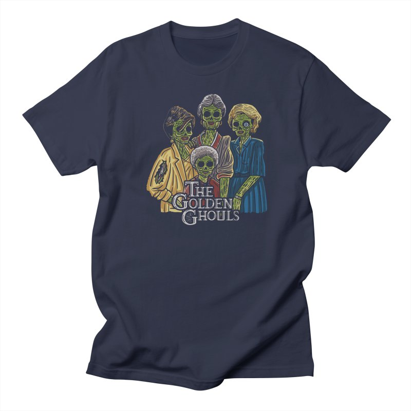 The Golden Ghouls Men's Regular T-Shirt by Ibyes