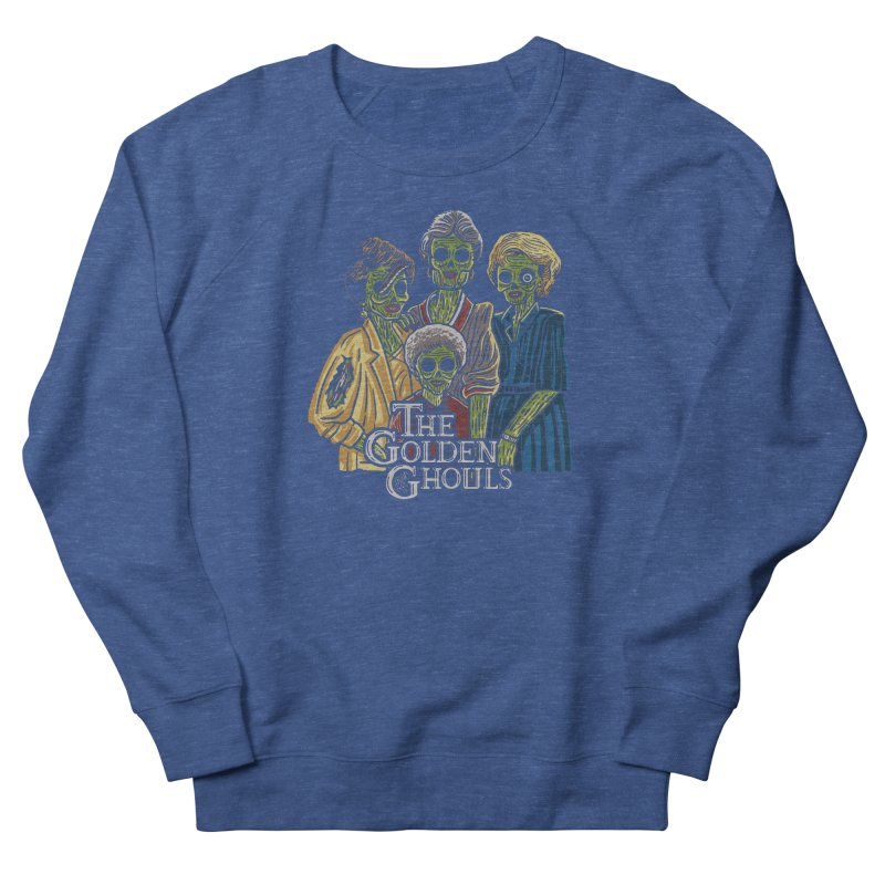 The Golden Ghouls Women's French Terry Sweatshirt by Ibyes