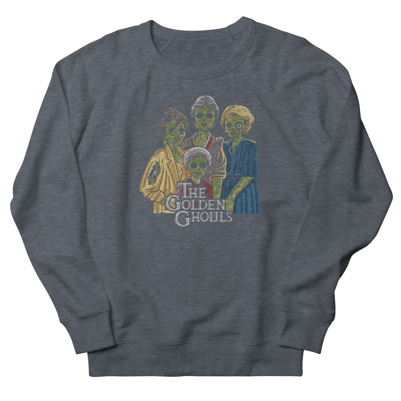 The Golden Ghouls Men's French Terry Sweatshirt by Ibyes