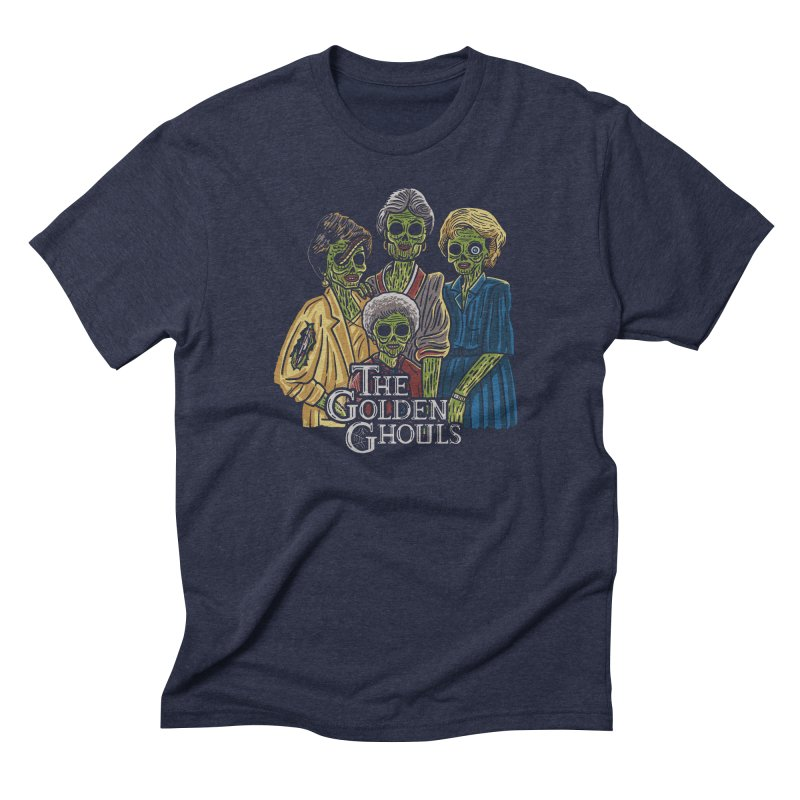 The Golden Ghouls Men's Triblend T-Shirt by Ibyes