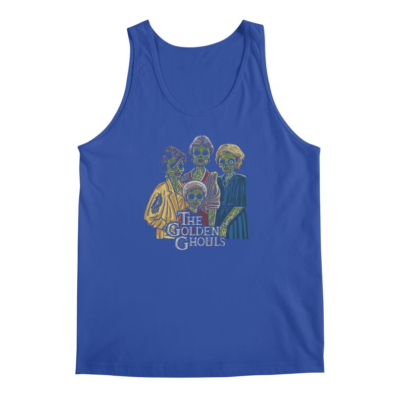 The Golden Ghouls Men's Regular Tank by Ibyes