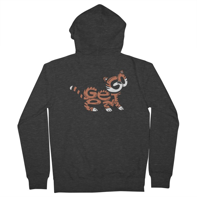 Go Get Em! Men's French Terry Zip-Up Hoody by Ibyes