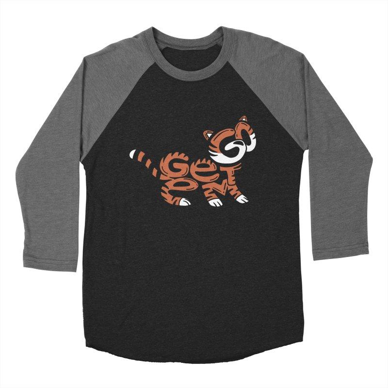 Go Get Em! Men's Baseball Triblend Longsleeve T-Shirt by Ibyes