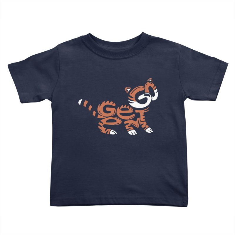 Go Get Em! Kids Toddler T-Shirt by Ibyes