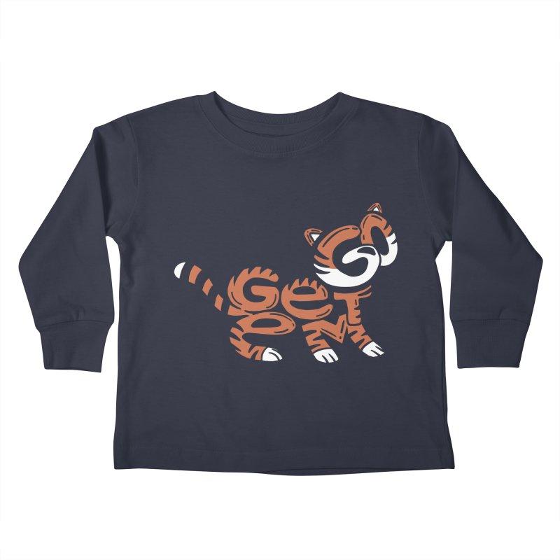 Go Get Em! Kids Toddler Longsleeve T-Shirt by Ibyes