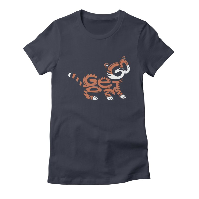 Go Get Em! Women's Fitted T-Shirt by Ibyes