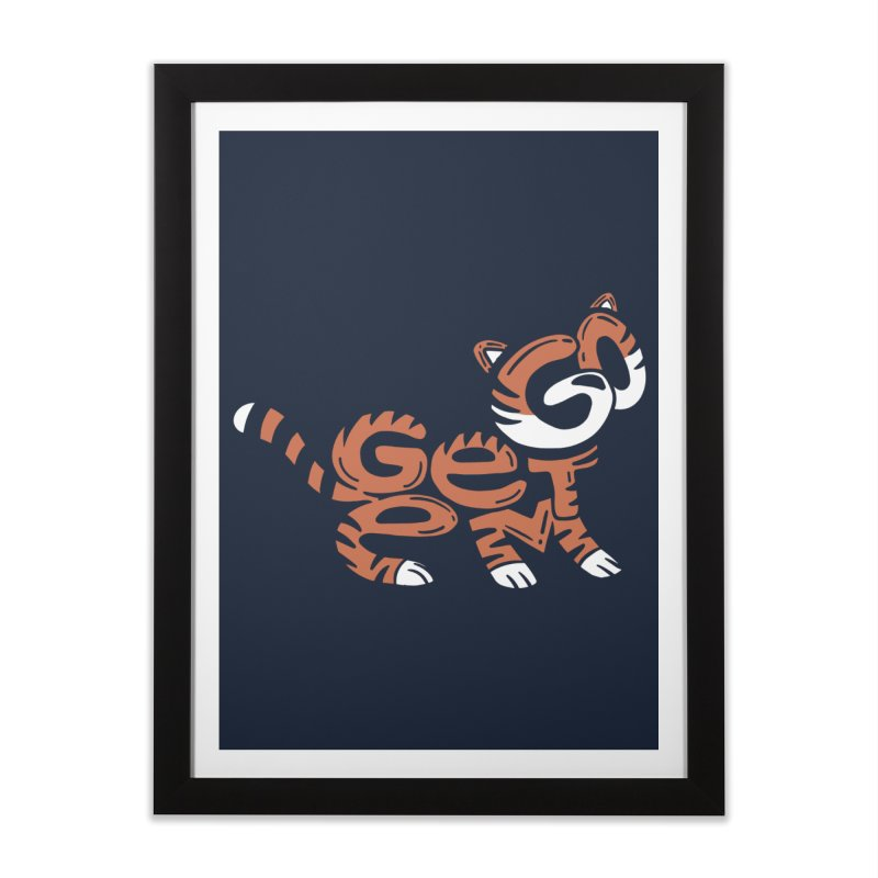Go Get Em! Home Framed Fine Art Print by Ibyes