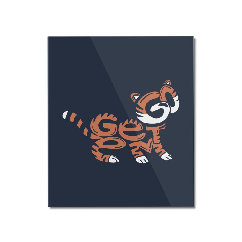 Go Get Em! Home Mounted Acrylic Print by Ibyes