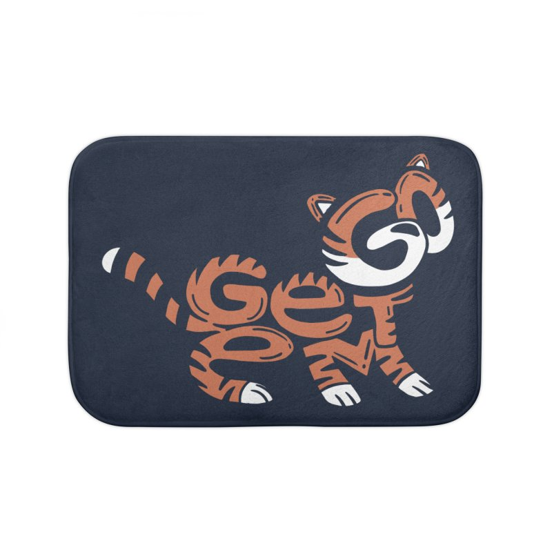 Go Get Em! Home Bath Mat by Ibyes