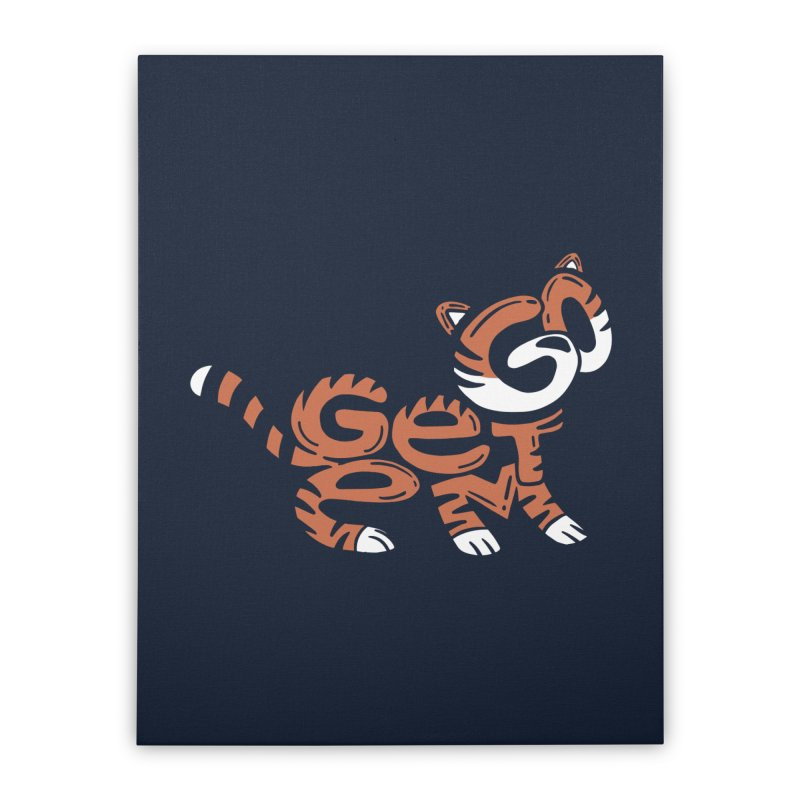 Go Get Em! Home Stretched Canvas by Ibyes