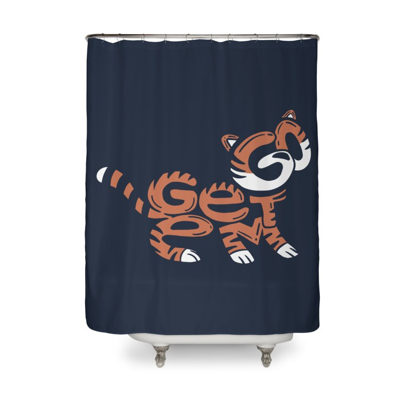Go Get Em! Home Shower Curtain by Ibyes