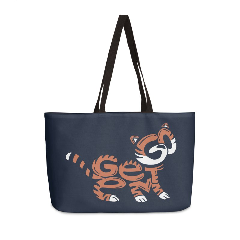 Go Get Em! Accessories Weekender Bag Bag by Ibyes