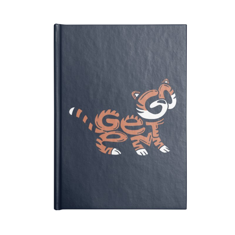 Go Get Em! Accessories Lined Journal Notebook by Ibyes