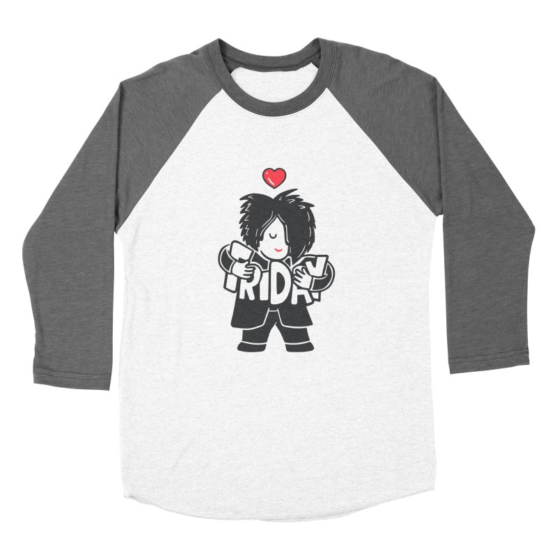 Weekday Cure Men's Baseball Triblend Longsleeve T-Shirt by Ibyes