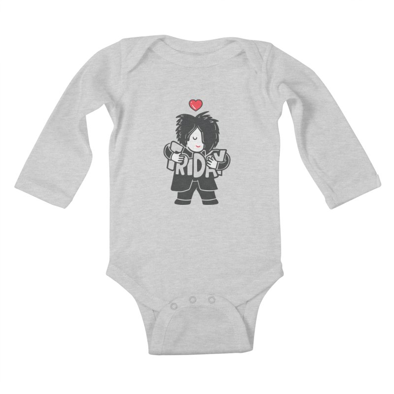 Weekday Cure Kids Baby Longsleeve Bodysuit by Ibyes