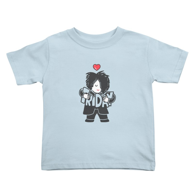 Weekday Cure Kids Toddler T-Shirt by Ibyes