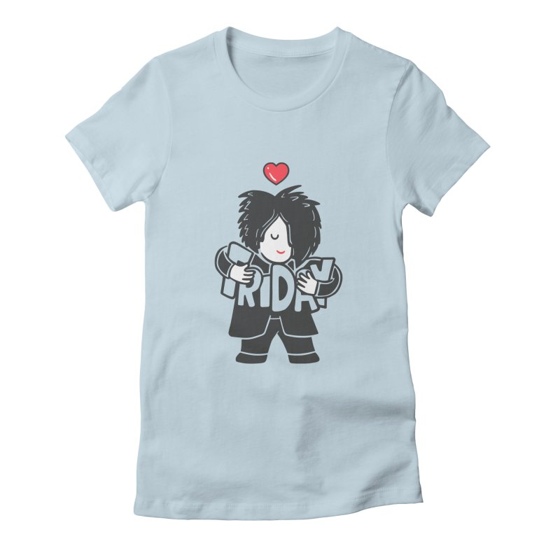 Weekday Cure Women's Fitted T-Shirt by Ibyes