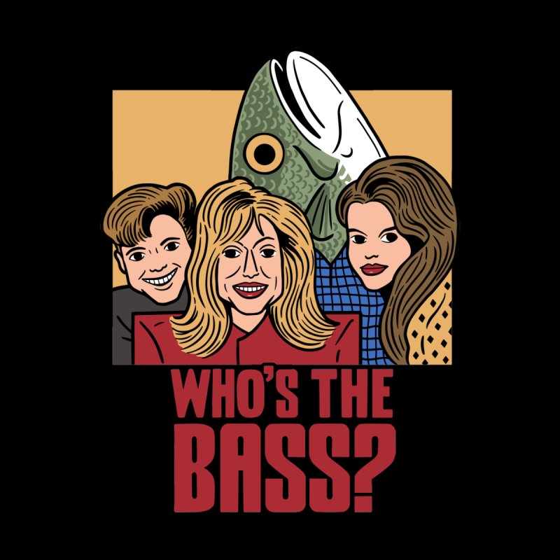 Who's The Bass? Kids Toddler T-Shirt by Ibyes