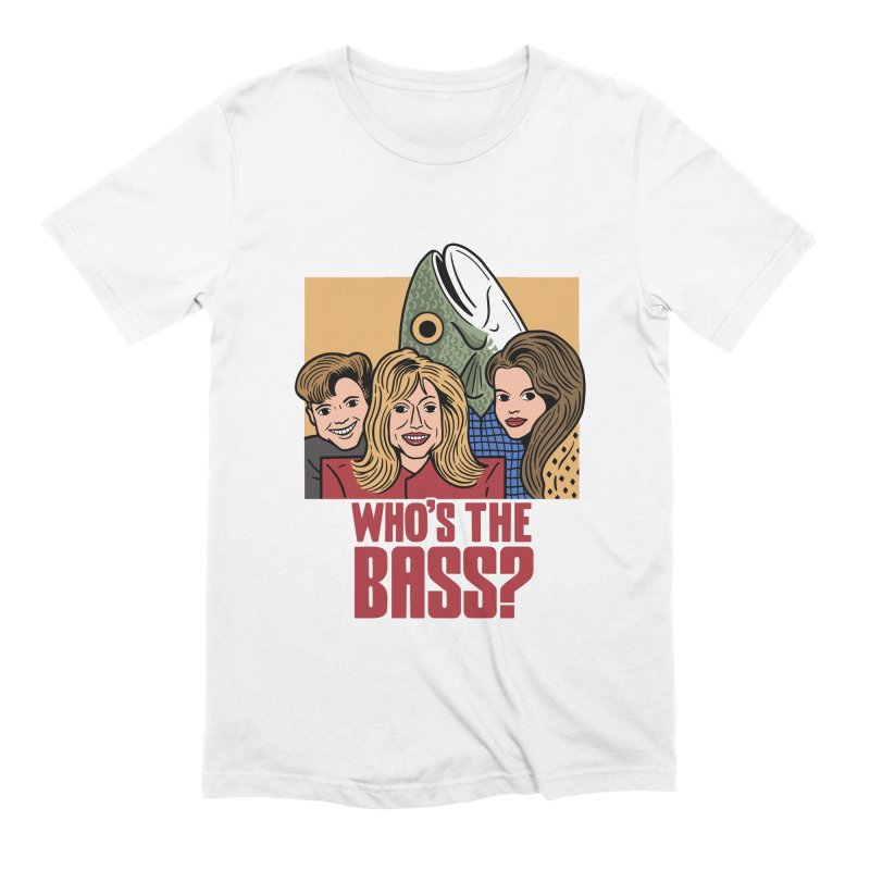 Who's The Bass? Men's Extra Soft T-Shirt by Ibyes