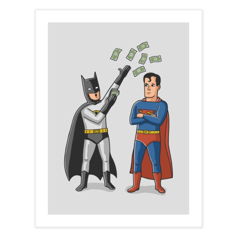 Super Rich Home Fine Art Print by Ibyes